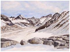 Faszination Berge V - am Gletscher