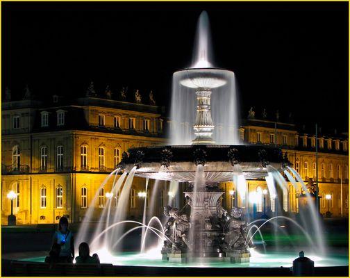 Faszination Stuttgart bei Nacht