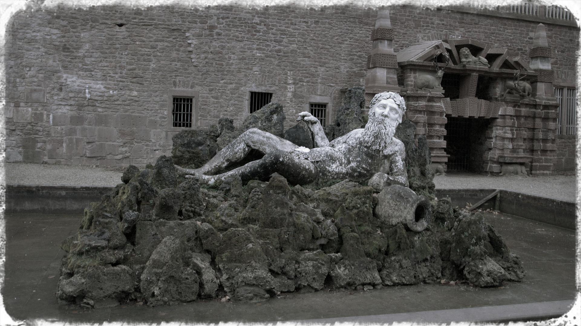Father Rhine, Heidelberg Palace Gardens