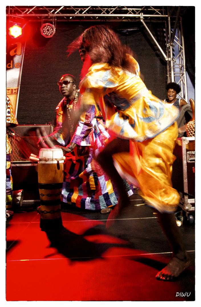 Fatou Soumah - Tänzerin von Mama Afrika
