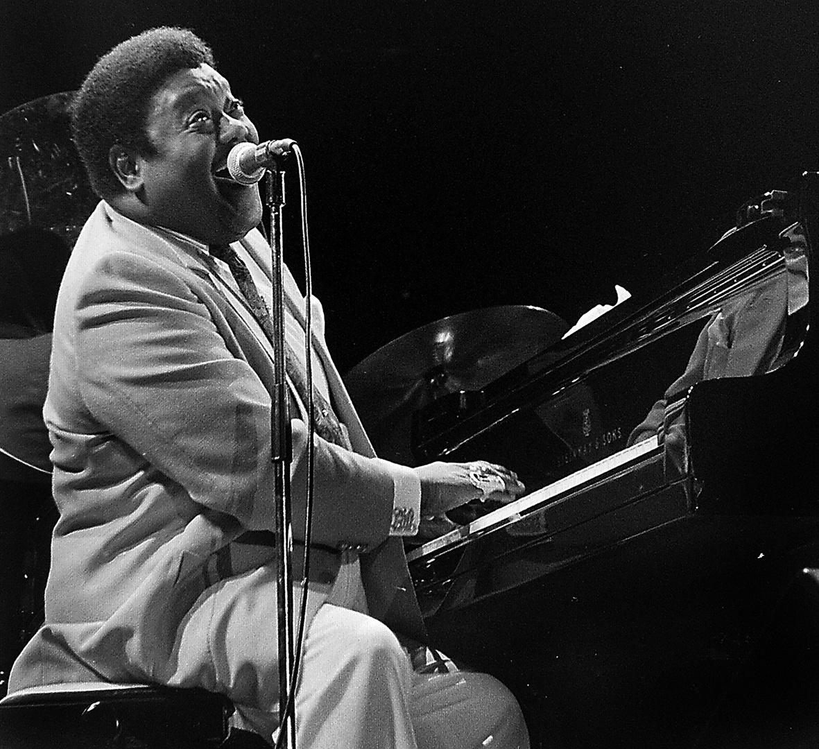 Fats Domino durfte am 26. Februar 2013 seinen 85. Geburtstag feiern. Herzlichen Glückwunsch