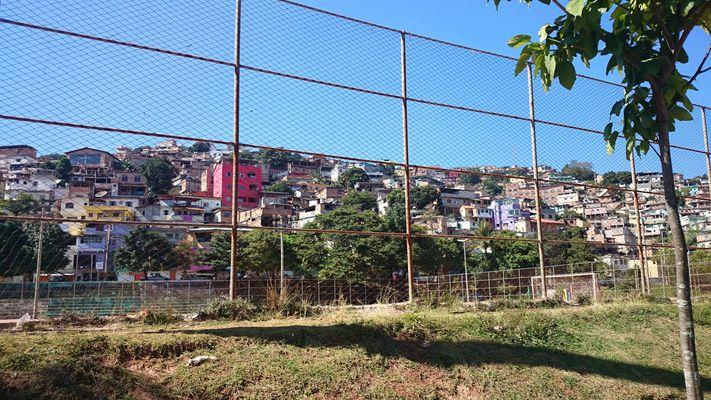 Favelas de Belo Horizonte,Sao Bento,Brasil juin2014.