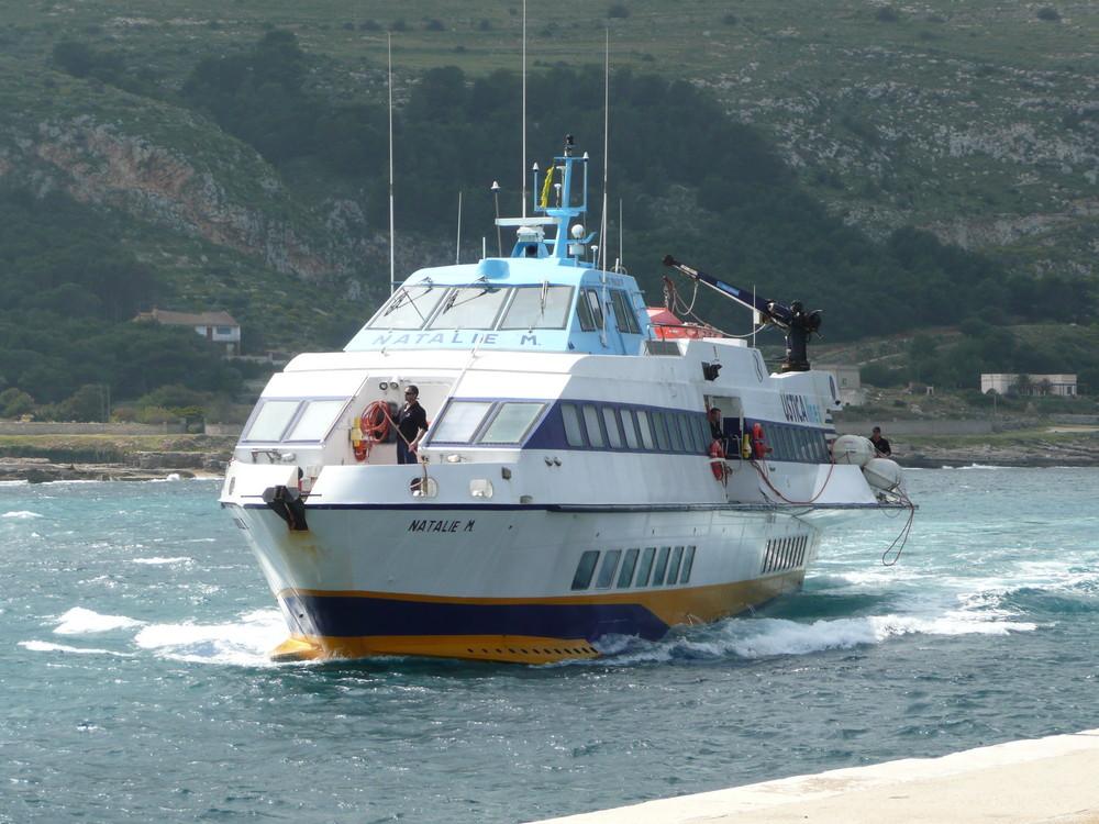 Favignana-Ankommen an Insel Favignana...mit NATALIE....