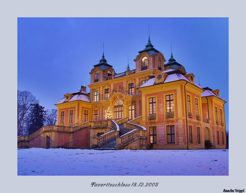 Favoriteschloss Ludwigsburg