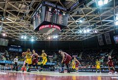 FC Bayern Basketball - MHP Riesen Ludwigsburg 91 : 71