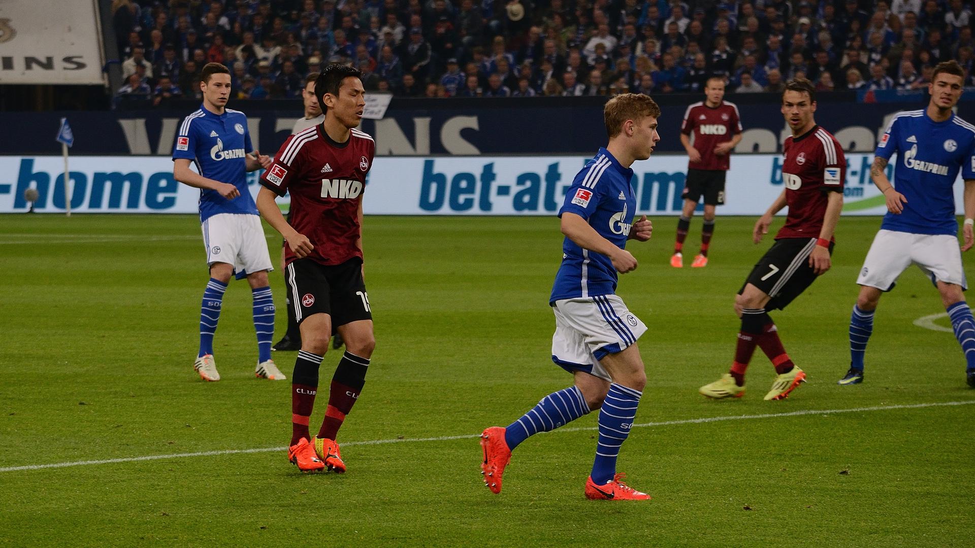 FC Schalke 04-1.FC Nürnberg