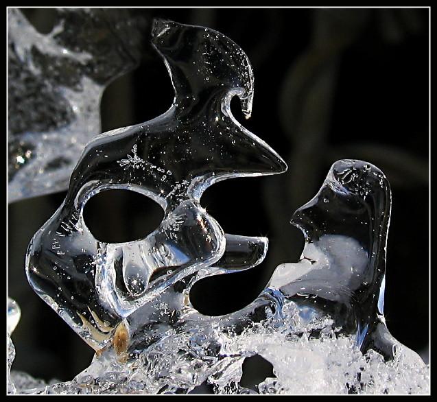 fc-Süchtiger zu Eis erstarrt...