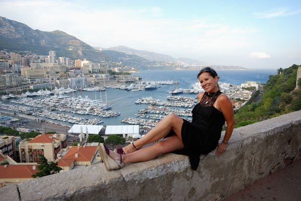 Fearless Don cossak woman in Monaco