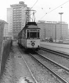 Februar 1984 Karl Marx Stadt einer der letzten Dreiwagenzüge