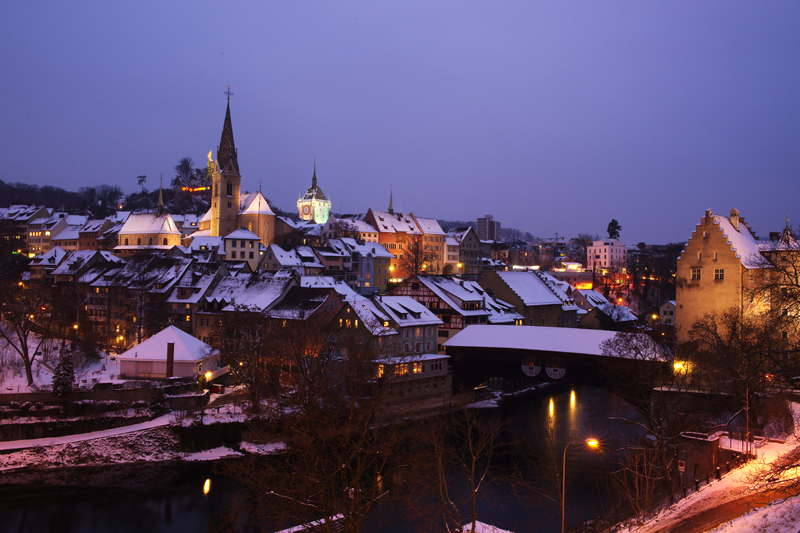 Februar in Baden