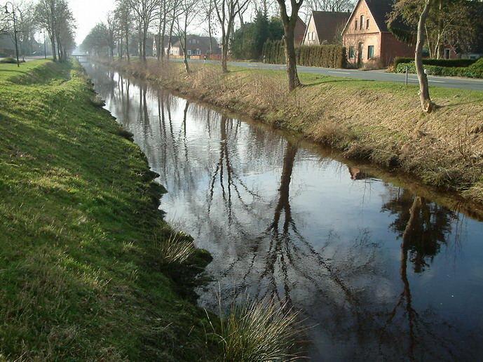 Februarmorgen am Augustfehner Kanal