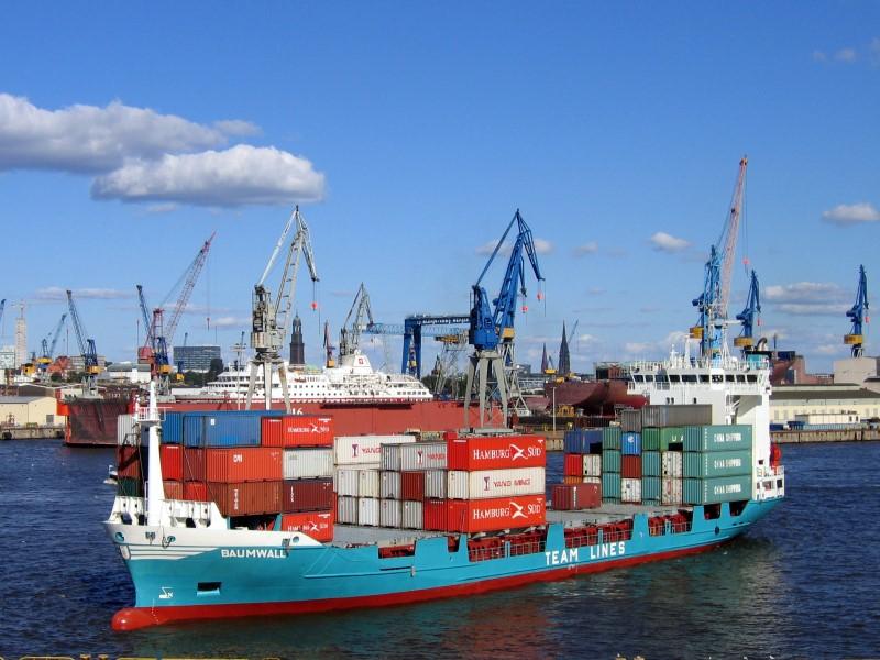 Feederschiff BAUMWALL