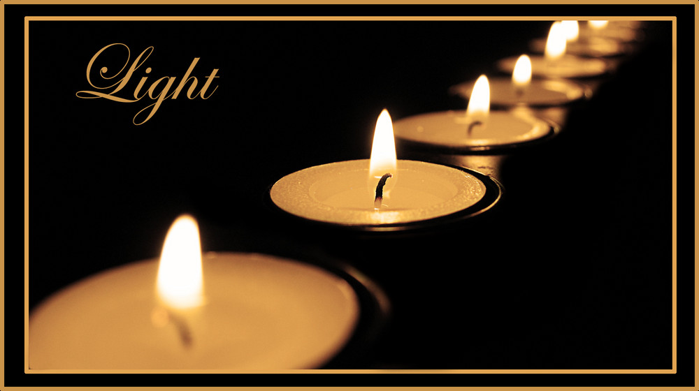 Feel the candlelight..