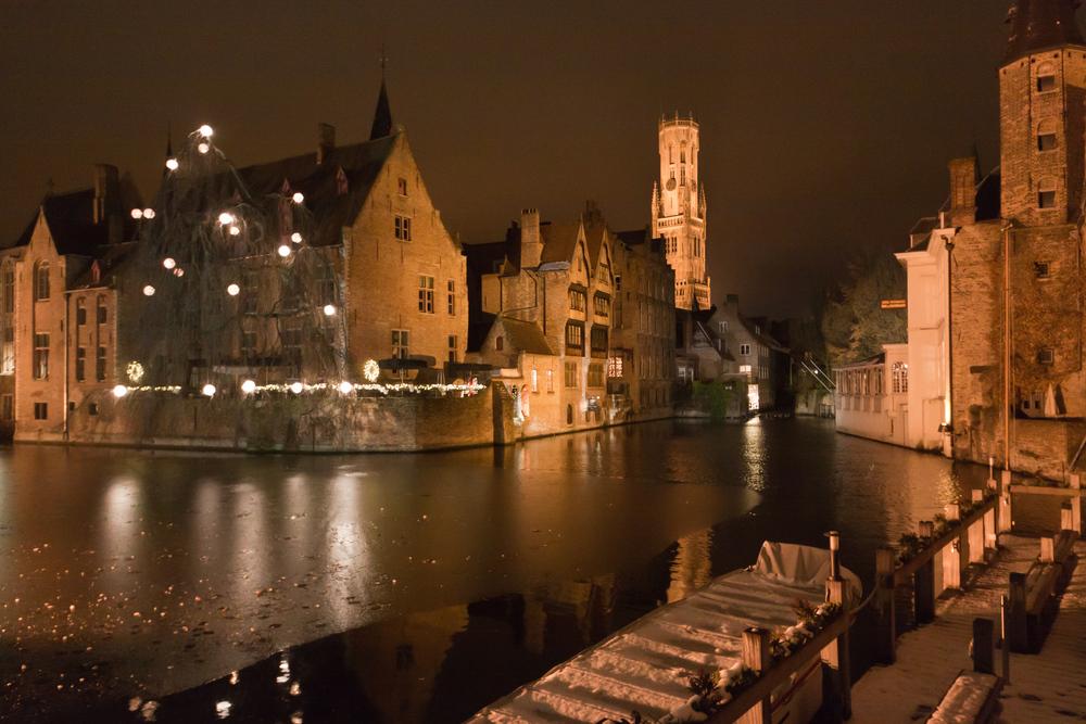 féerie de Bruges la nuit