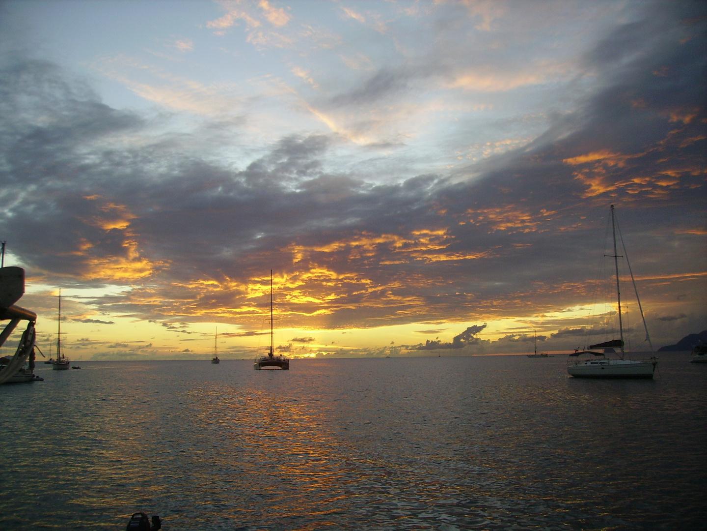 Féerie du soir en Martinique