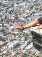 Feet over Cape Town