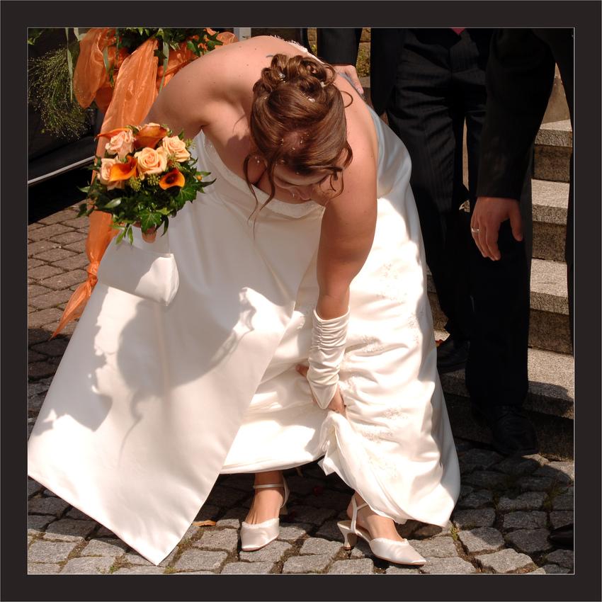 Fehltritt der Braut (Hochzeitspaparazzo)