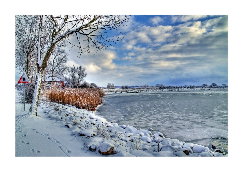 Fehmarn Winter Ufer 1
