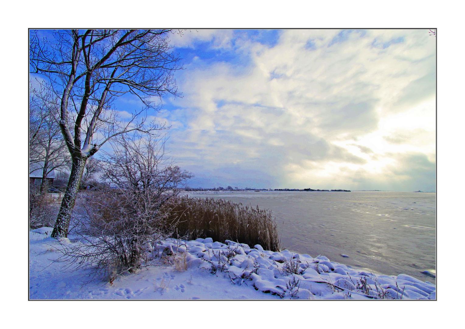 Fehmarn Winter Ufer 2