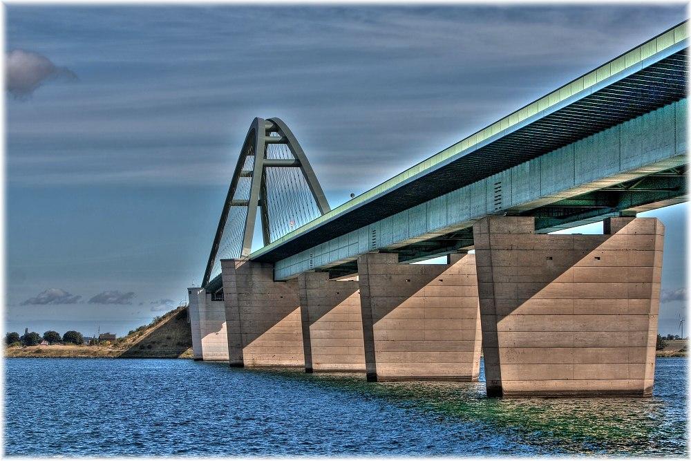 Fehmarnsund-Brücke...