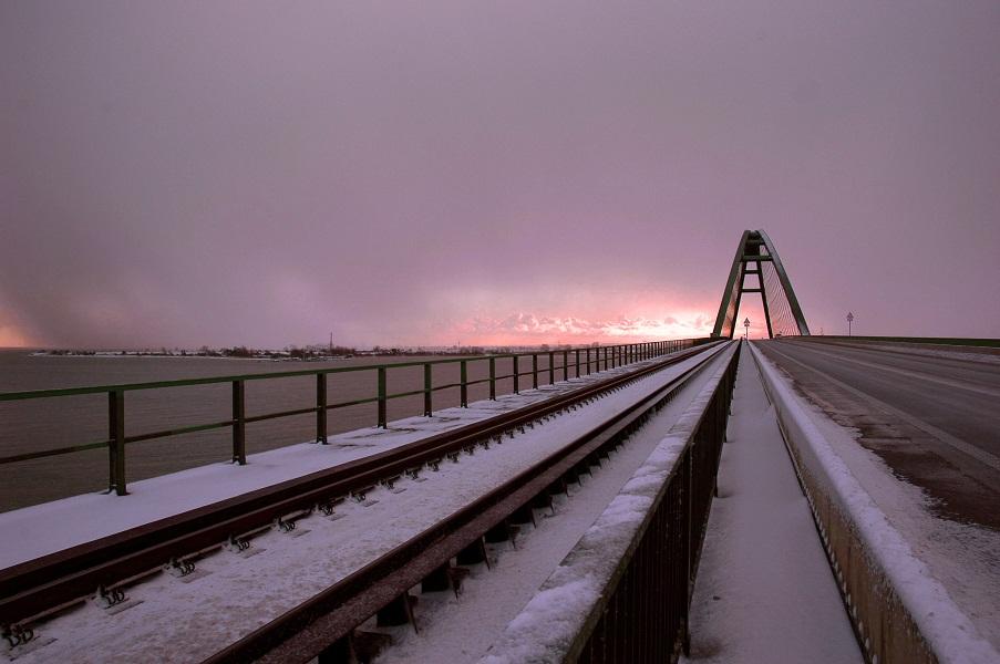 Fehmarnsund im Winter 2012-2013
