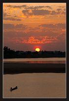 Feierabend am Mekong 1
