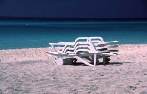 Feierabend am Varadero Strand