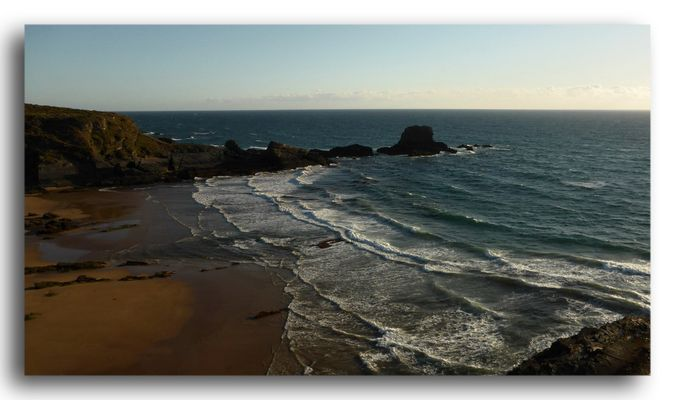 Feierabendstrand von Zambujeira do Mar