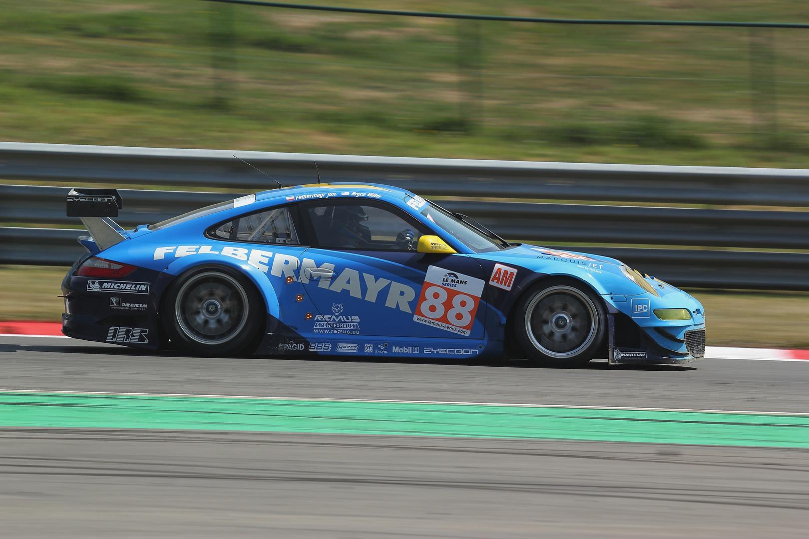 Felbermayr Porsche 1000 km LMS Spa 2011