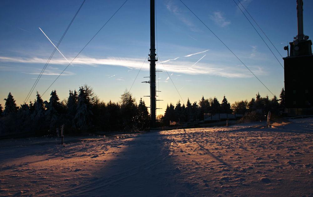Feldberg im Winter
