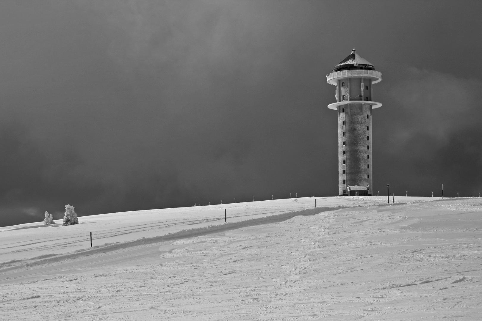 Feldbergturm im Winter II
