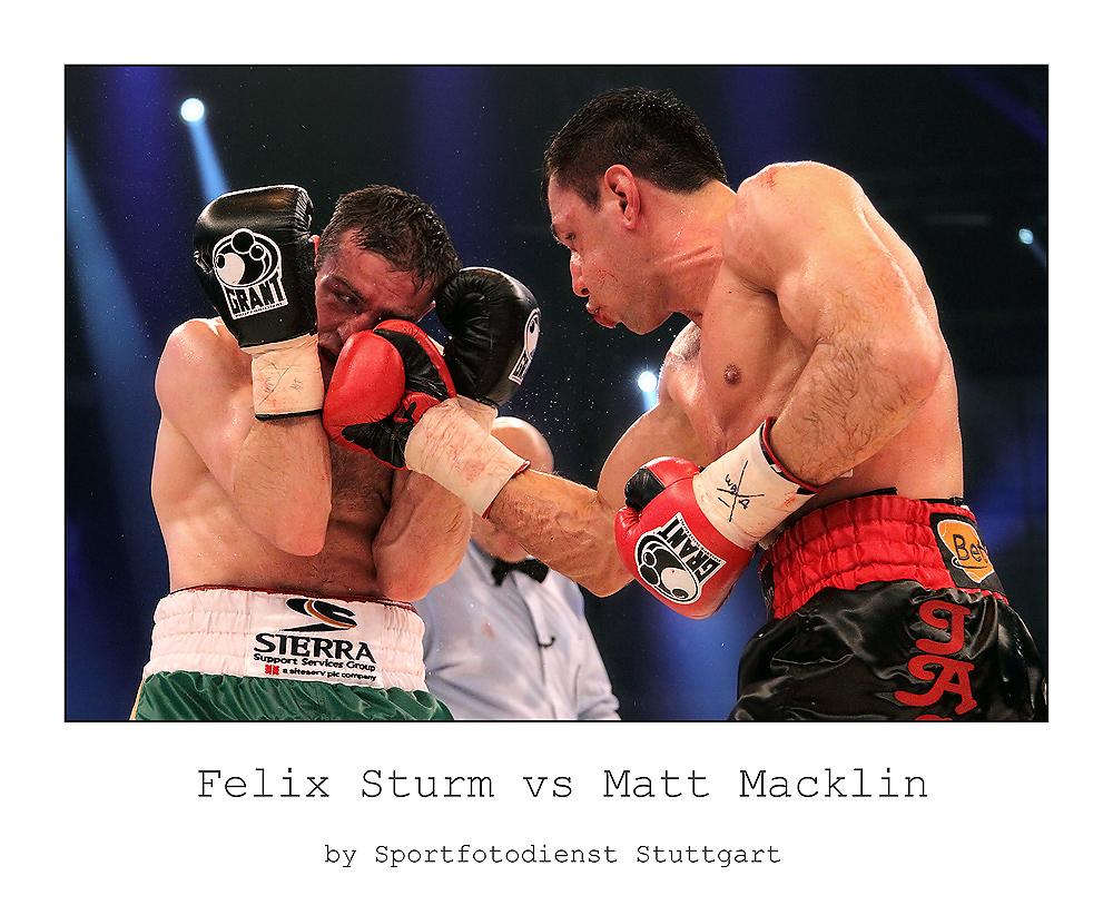 Felix Sturm vs Matthew Macklin II