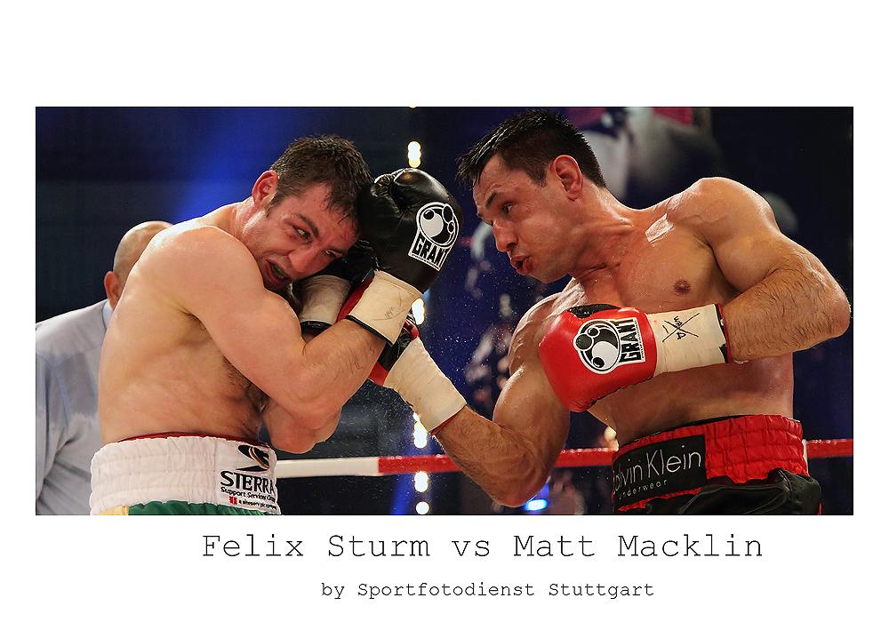 Felix Sturm vs Matthew Macklin vom Samstag