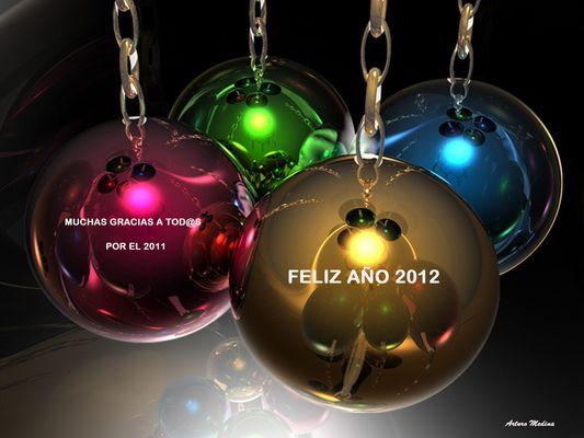 FELIZ AÑO 2012 A TODOS LOS AMIG@S DE FOTOCOMMUNITY