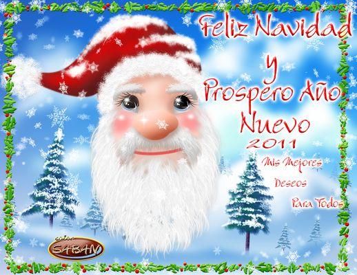Feliz Navidad a Todos Y Feliz Año Nuevo 2011