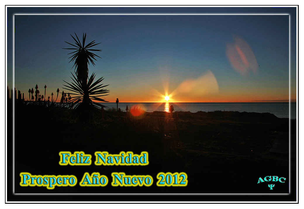 Feliz Navidad y Prospero Año 2012 I