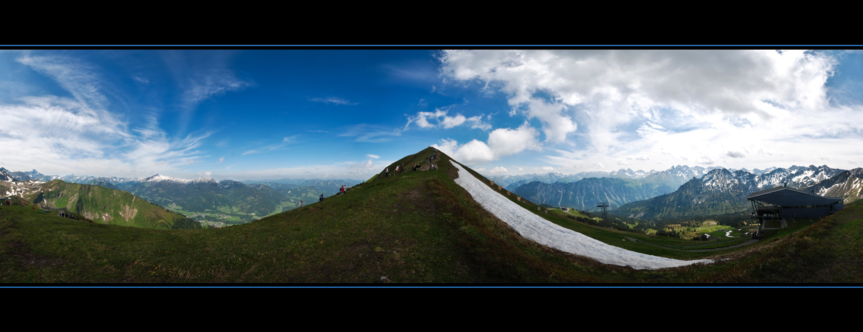 Fellhorn - 360° Panorama
