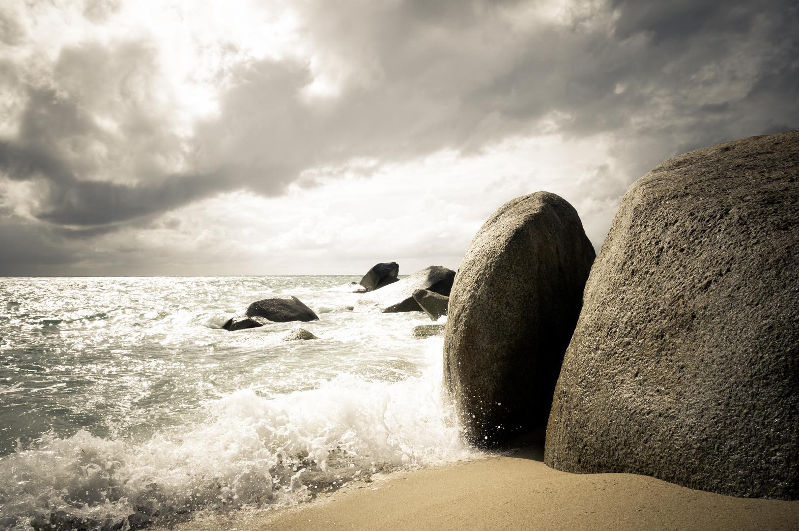 Fels auf Koh Samui