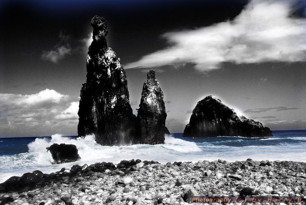 Fels - Brandung - Madeira