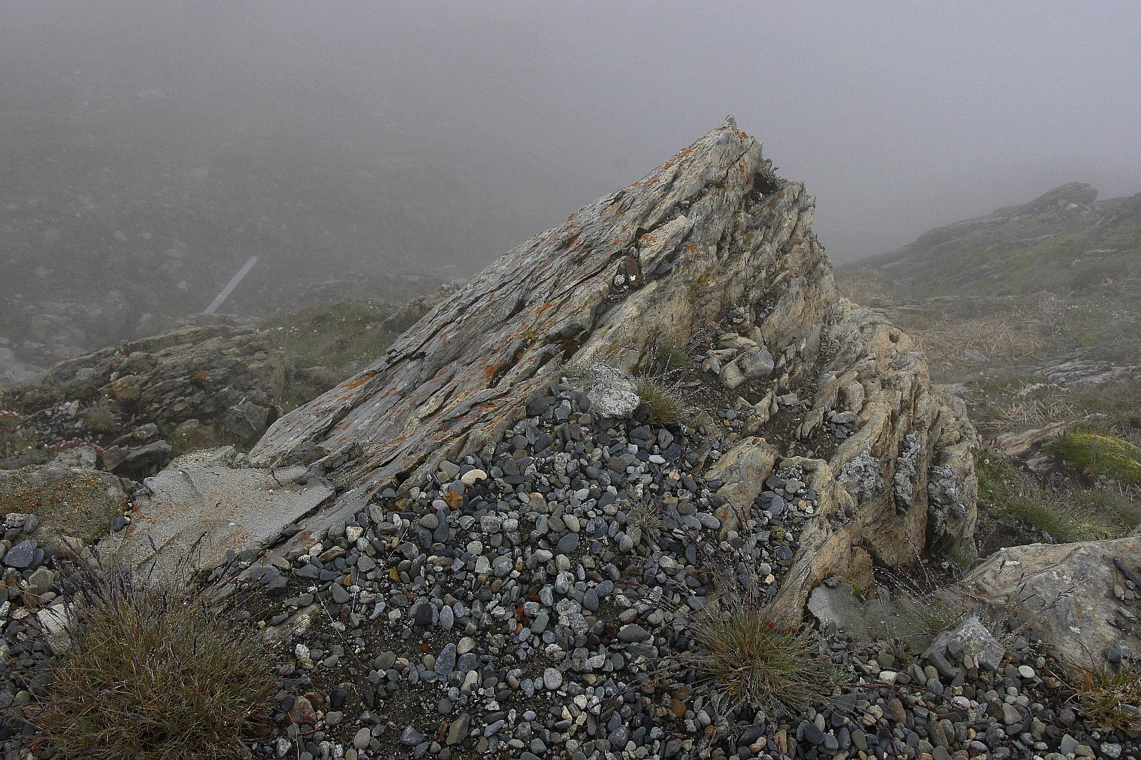 Fels in 2850 m Höhe