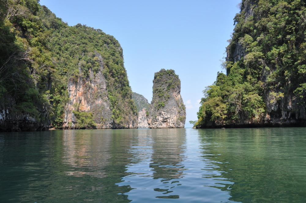 Fels in der Andamanensee Foto & Bild | landschaft, meer ...