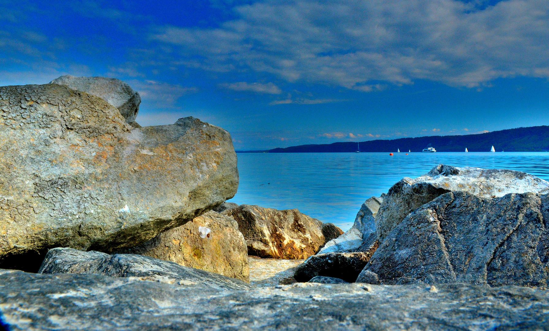 Felsen am schwäbischen Meer
