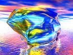 Felsen aus Glas