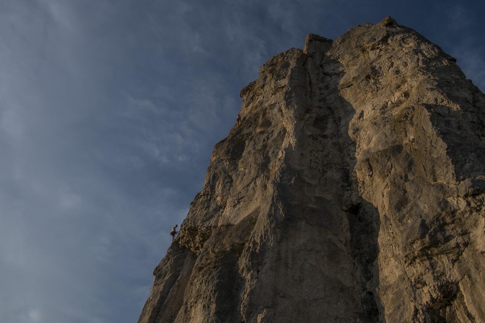 Felsen bei Dollnstein am Altmühltal 02