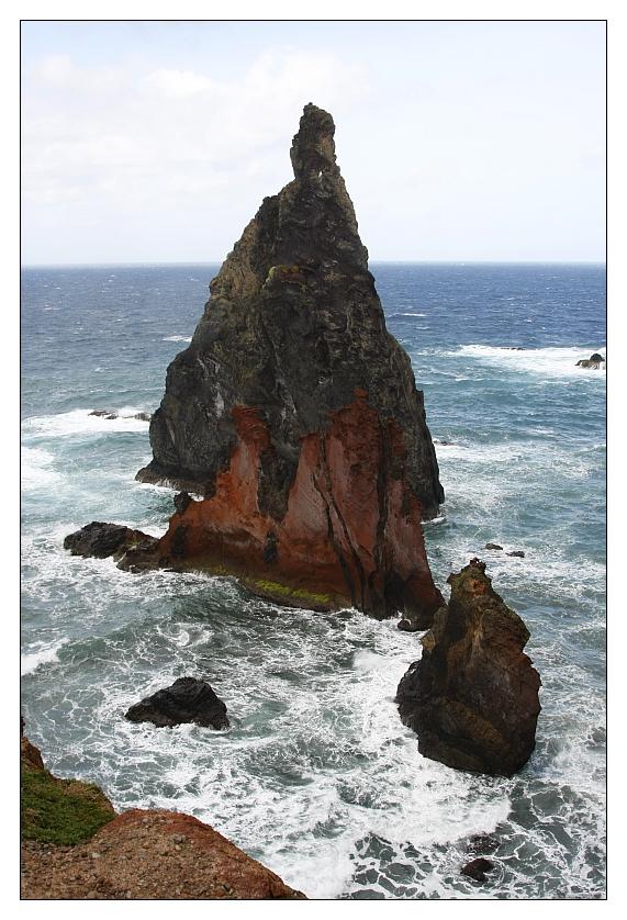 Felsen beim Ponta de São Lourenço