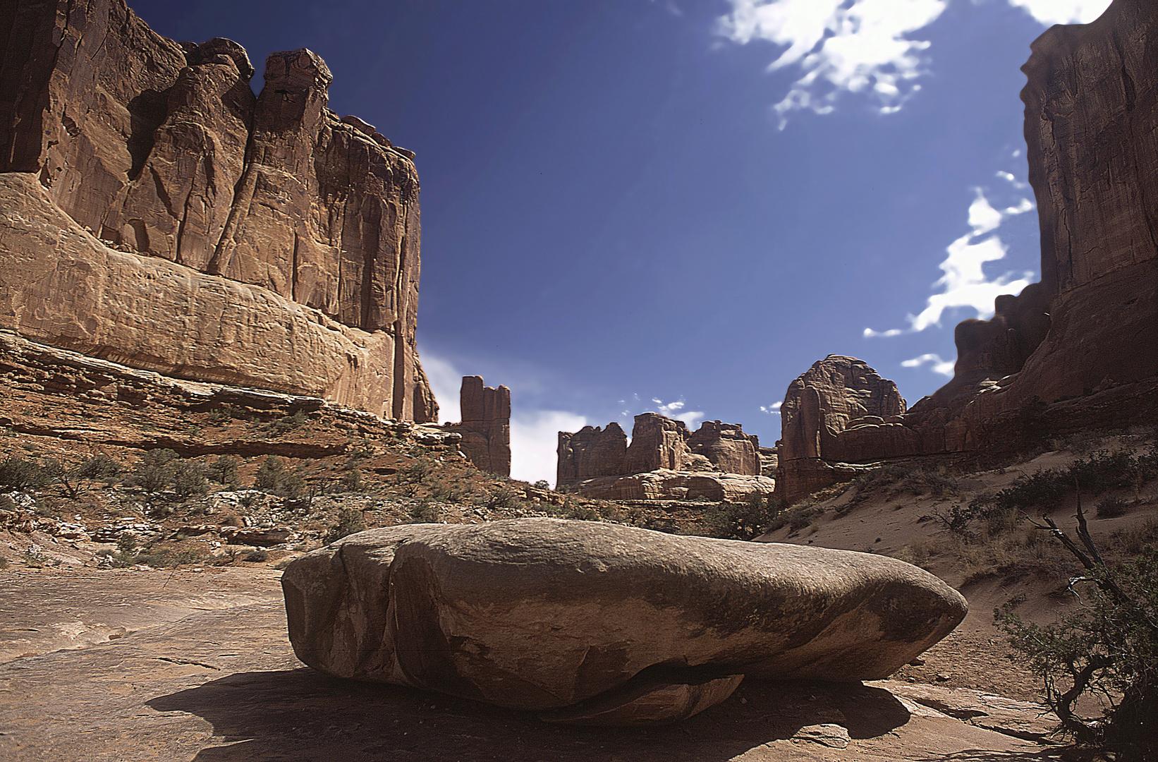 Felsen im Monument Valley