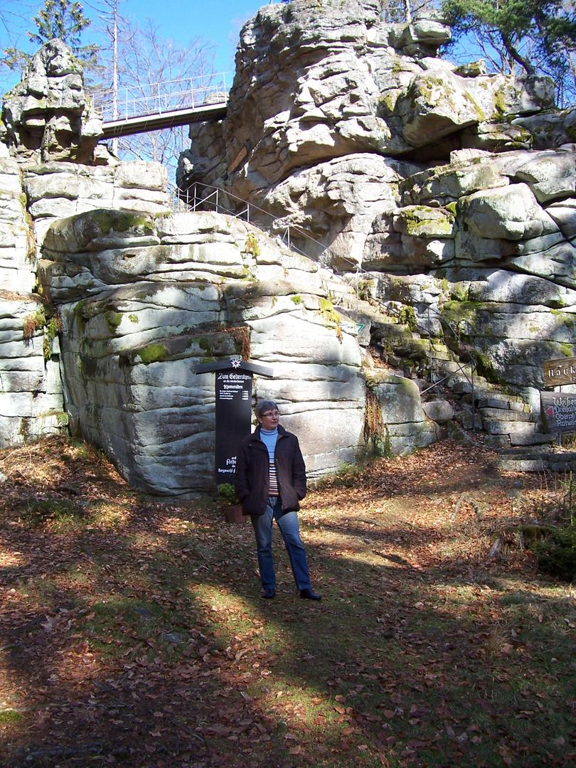 Felsen im Steinwald
