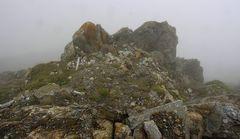 Felsen in 2850 m Höhe
