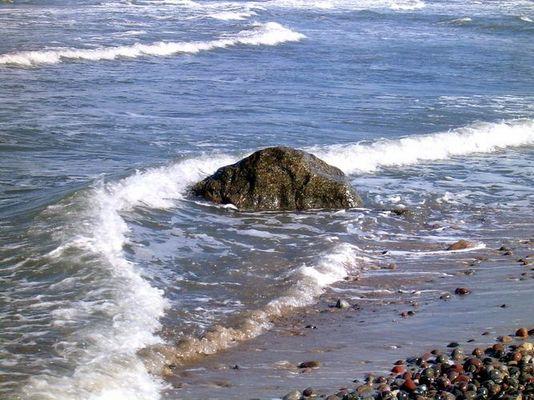 Felsen in der Ostsee