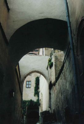 Felsengang Schloß Weesenstein
